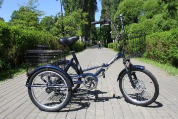 Doonkan Trike 20 синий электрический складной велосипед дункан трайк трицикл грузовой (119)