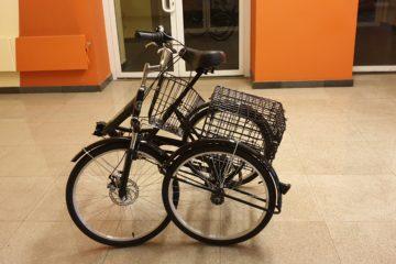 Doonkan Trike 24 Трицикл трайк трехколесный велосипед для взрослых складной взрослый для взрослого (12)