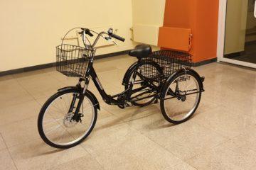 Doonkan Trike 24 Трицикл трайк трехколесный велосипед для взрослых складной взрослый для взрослого (22)