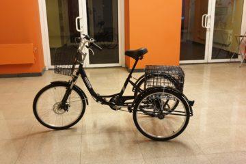 Doonkan Trike 24 Трицикл трайк трехколесный велосипед для взрослых складной взрослый для взрослого (6)
