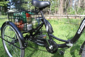 Электровелосипед трицикл Doonkan Trike 24 Трехколесный велосипед для взрослых складной 500w (102)