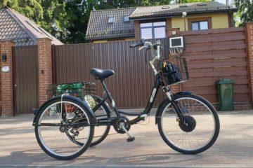 Электровелосипед трицикл Doonkan Trike 24 Трехколесный велосипед для взрослых складной 500w (32)
