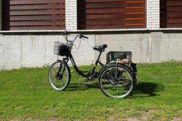 Электровелосипед трицикл Doonkan Trike 24 Трехколесный велосипед для взрослых складной 500w (35)
