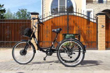 Электровелосипед трицикл Doonkan Trike 24 Трехколесный велосипед для взрослых складной 500w (36)