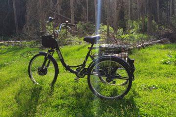 Электровелосипед трицикл Doonkan Trike 24 Трехколесный велосипед для взрослых складной 500w (45)
