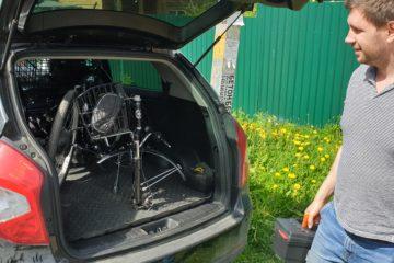 Электровелосипед трицикл Doonkan Trike 24 Трехколесный велосипед для взрослых складной 500w (7)