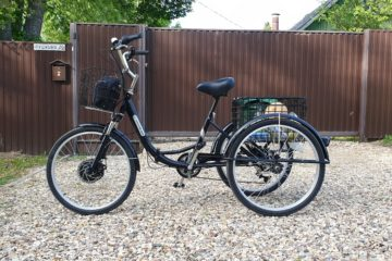 Электровелосипед трицикл Doonkan Trike 24 Трехколесный велосипед для взрослых складной 500w (71)