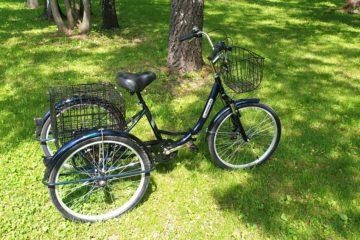 Трайк байк Дункан Doonkan Trike 24 складной трехколесный велосипед для взрослых (17)