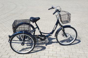 Трайк байк Дункан Doonkan Trike 24 складной трехколесный велосипед для взрослых (2)