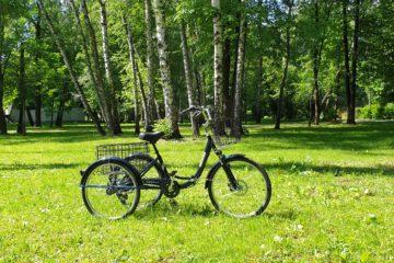 Трайк байк Дункан Doonkan Trike 24 складной трехколесный велосипед для взрослых (27)