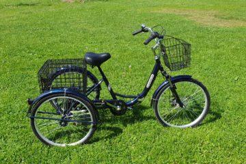 Трайк байк Дункан Doonkan Trike 24 складной трехколесный велосипед для взрослых (3)