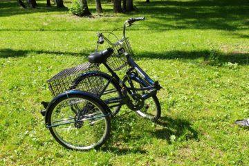 Трайк байк Дункан Doonkan Trike 24 складной трехколесный велосипед для взрослых (35)