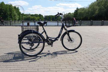 Трайк байк Дункан Doonkan Trike 24 складной трехколесный велосипед для взрослых (44)