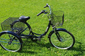Трайк байк Дункан Doonkan Trike 24 складной трехколесный велосипед для взрослых (5)