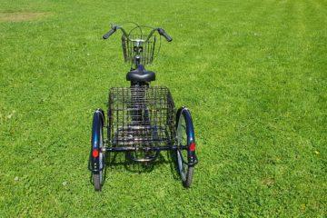 Трайк байк Дункан Doonkan Trike 24 складной трехколесный велосипед для взрослых (6)