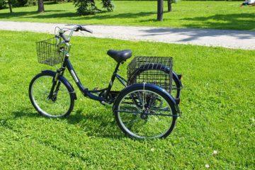 Трайк байк Дункан Doonkan Trike 24 складной трехколесный велосипед для взрослых (8)