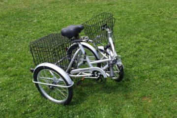 Трехколесный велосипед для взрослых взрослый для взрослого складной Трицикл Doonkan Trike 20 (30)