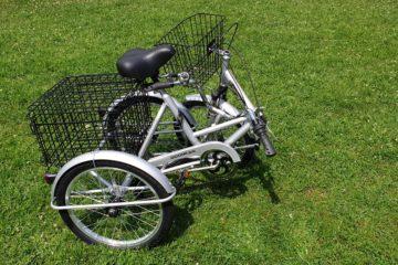 Трехколесный велосипед для взрослых взрослый для взрослого складной Трицикл Doonkan Trike 20 (32)