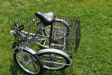 Трехколесный велосипед для взрослых взрослый для взрослого складной Трицикл Doonkan Trike 20 (34)