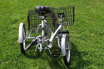 Трехколесный велосипед для взрослых взрослый для взрослого складной Трицикл Doonkan Trike 20 (38)