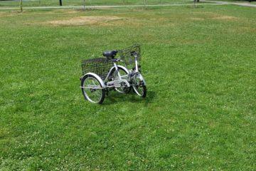 Трехколесный велосипед для взрослых взрослый для взрослого складной Трицикл Doonkan Trike 20 (39)