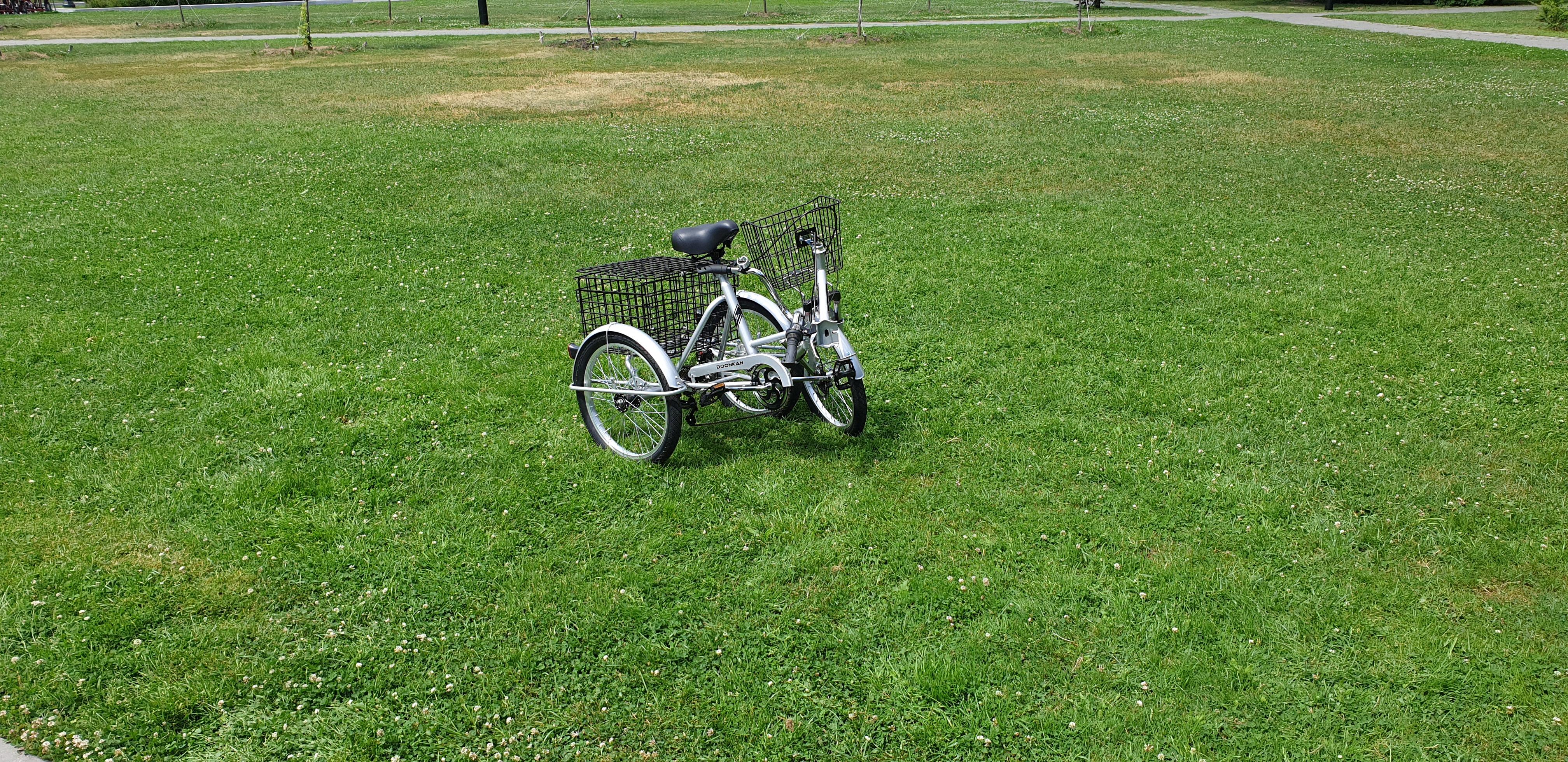 Трехколесный складной велосипед для взрослых DOONKAN Trike