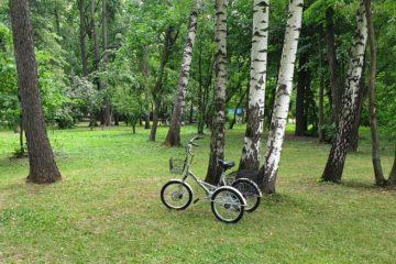 Трехколесный велосипед для взрослых взрослый для взрослого складной Трицикл Doonkan Trike 20 (46)
