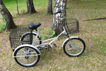 Трехколесный велосипед для взрослых взрослый для взрослого складной Трицикл Doonkan Trike 20 (47)