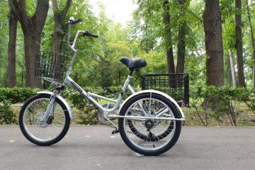 Трехколесный велосипед для взрослых взрослый для взрослого складной Трицикл Doonkan Trike 20 (57)