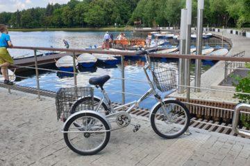 Трехколесный велосипед для взрослых взрослый для взрослого складной Трицикл Doonkan Trike 20 (73)