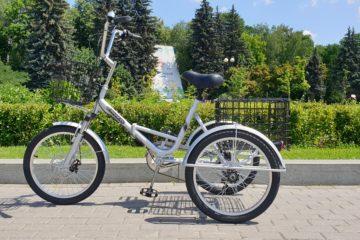 Трехколесный велосипед для взрослых взрослый для взрослого складной Трицикл Doonkan Trike 20 (8)