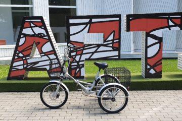 Трехколесный велосипед для взрослых взрослый для взрослого складной Трицикл Doonkan Trike 20 (81)