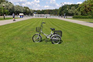 Трехколесный велосипед для взрослых взрослый для взрослого складной Трицикл Doonkan Trike 20 (90)