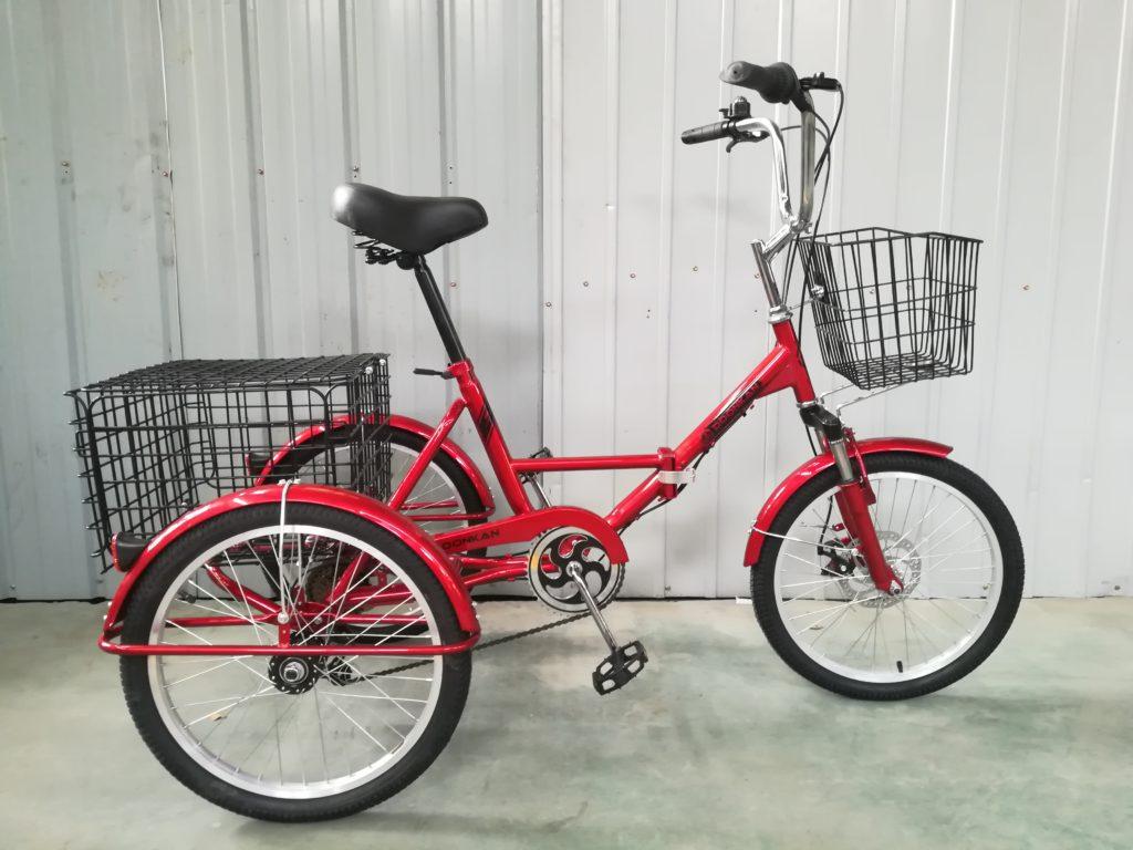 Трехколесный велосипед для взрослых Doonkan Trike 20 красный