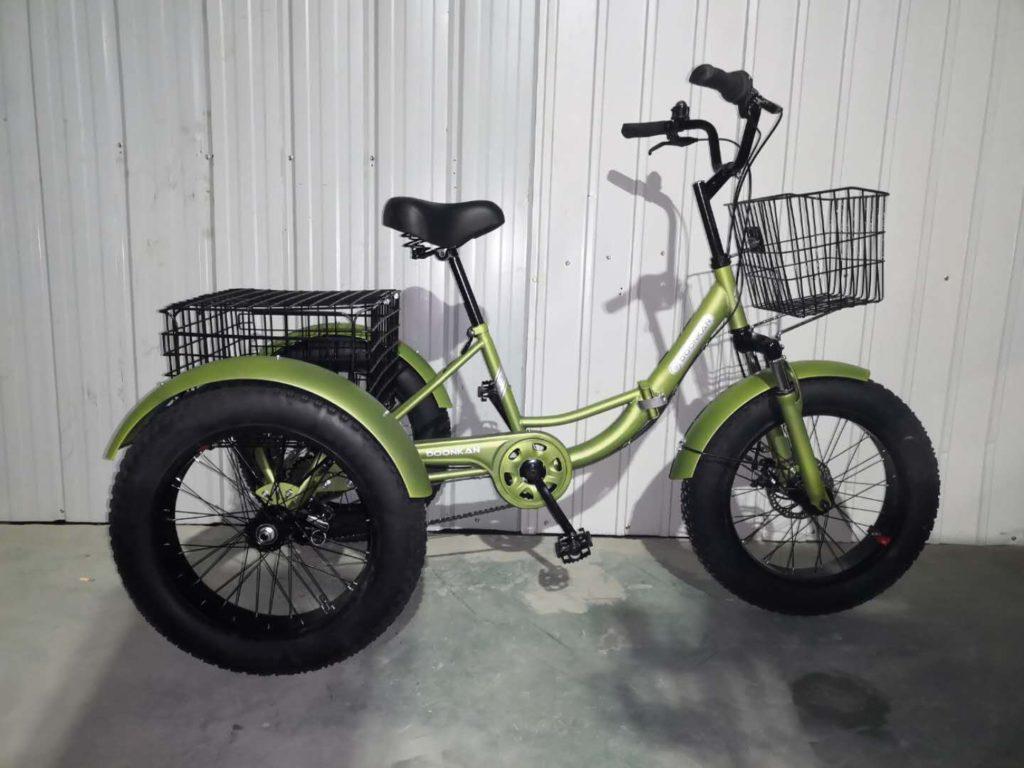Трехколесный велосипед Фэтбайк Doonkan Trike Fatbike 20 складной