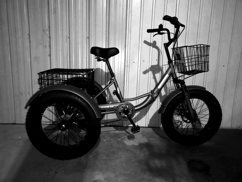 трехколесный взрослый велосипед фэтбайк