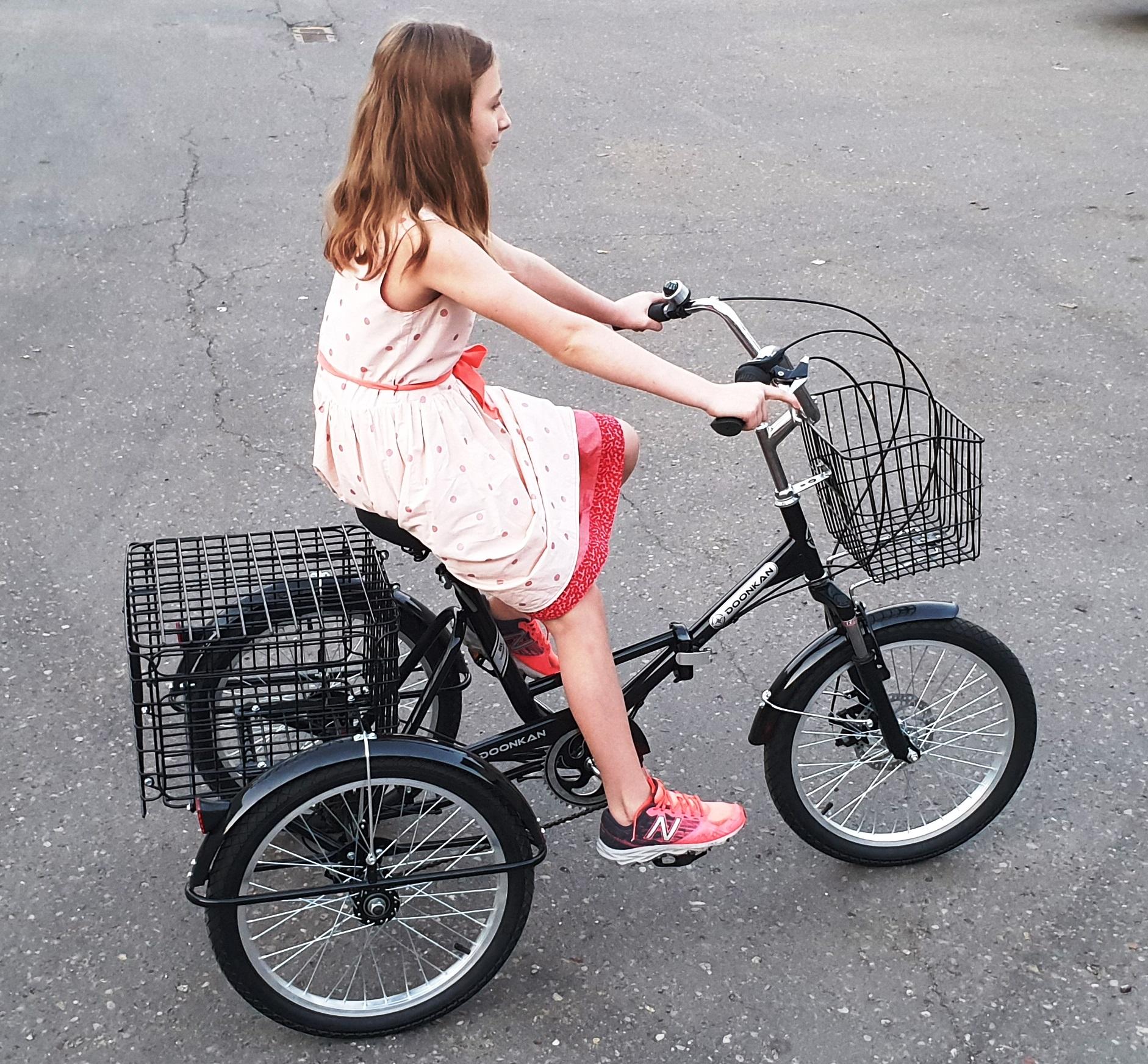 Doonkan Trike Трицикл трайк трехколесный велосипед