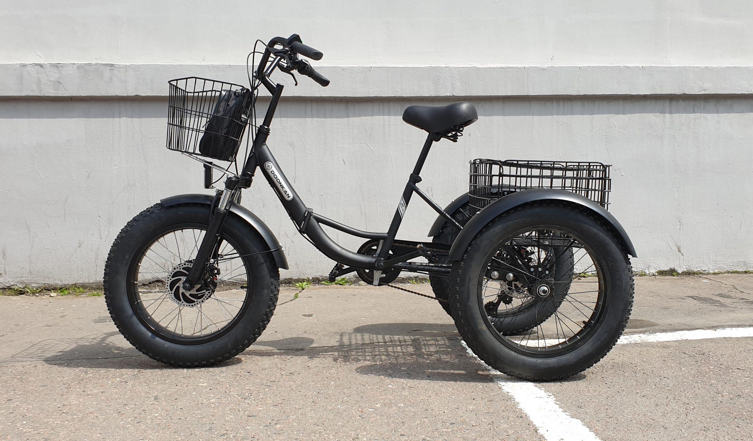 Doonkan Trike Трицикл трайк трехколесный велосипед Фэтбайк Панда Panda